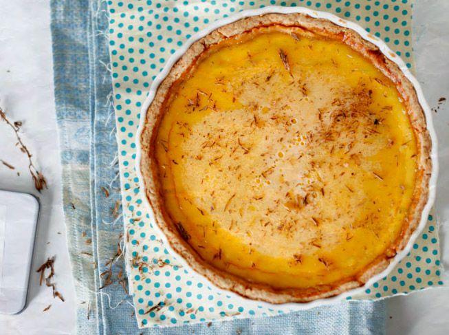 Лимонно медовый пирог