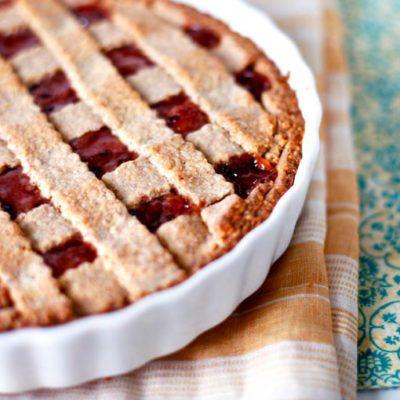 Двухслойный линцский пирог