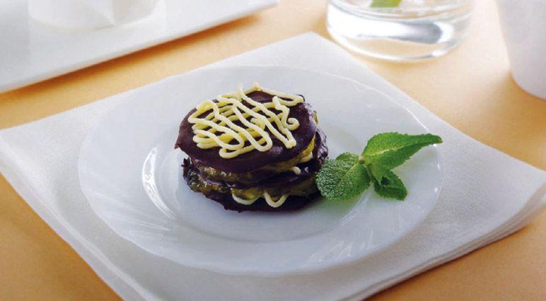 Десерт «Шоколадное лакомство»