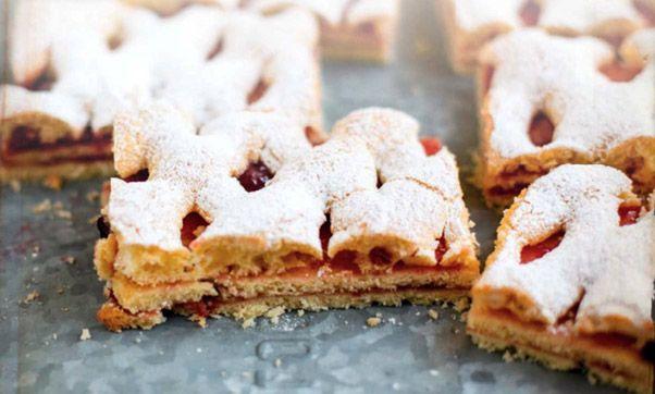 Пирожное «Дачное» с сахарной пудрой