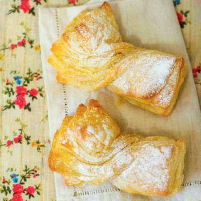 Пирожные бантики