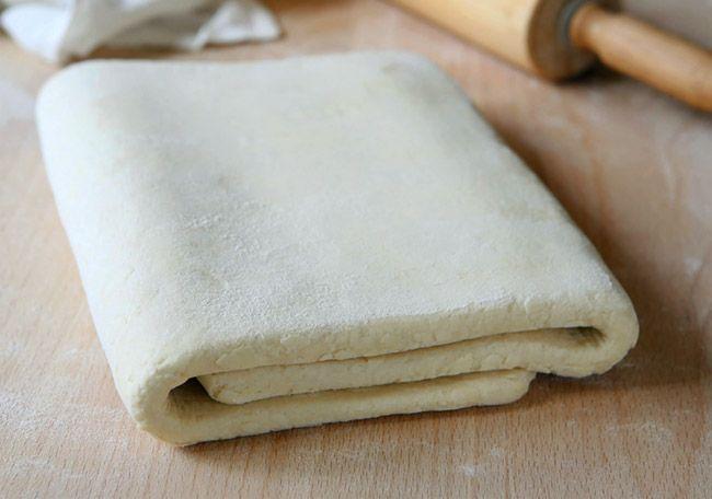 Слоеное тесто основной рецепт