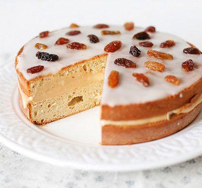 Торт с урбечем