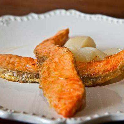 Рыба, жаренная в льезоне
