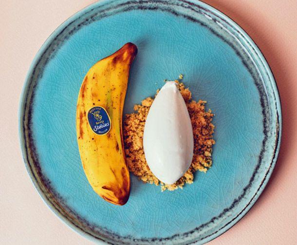 Baby banana: Десерт с банановым кремом