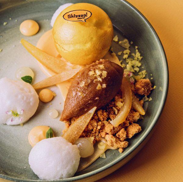 Цитрусовый десерт Shizzza