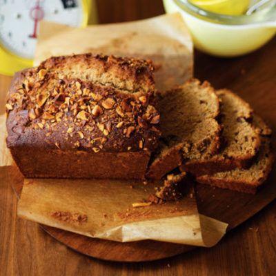 """Банановый """"хлеб"""" с бразильским орехом"""