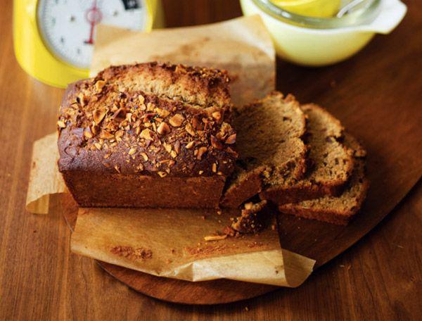 Банановый «хлеб» с бразильским орехом