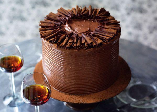 Миссисипский шоколадный торт