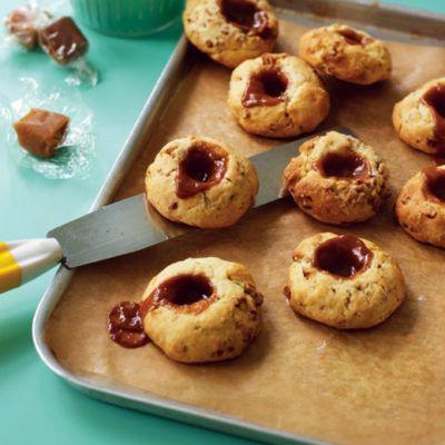 Печенье с орехом пекан и сливочной карамелью