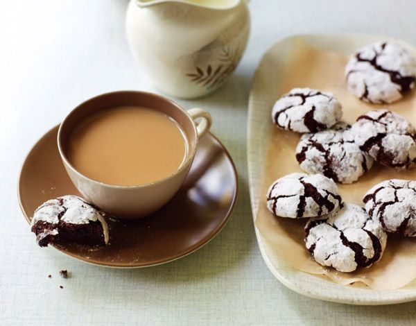Шоколадное печенье-трюфель