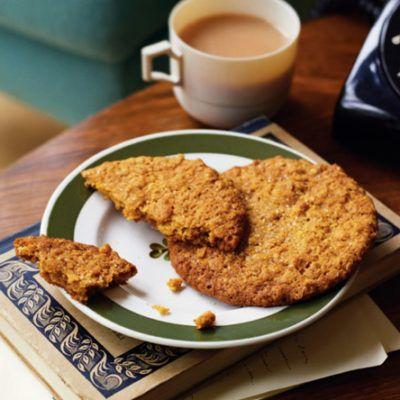 Хрустящее печенье с сиропом